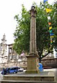 SD5429 : Preston Market Place Obelisk by Gerald England