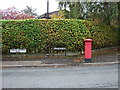 SJ7786 : Victorian postbox on Heather Road, Hale by JThomas