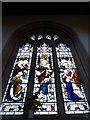 TL6370 : SS Peter & Mary Magdalene, Fordham: stained glass window (8) by Basher Eyre