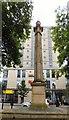 SD5429 : Preston Obelisk by Gerald England