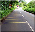 SS1098 : Eastern approach to Crackwell railway bridge, Pembrokeshire by Jaggery