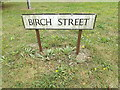 TL9419 : Birch Street sign by Adrian Cable