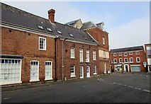 SO5139 : St Ethelbert Street side of Chandos Pharmacy, Hereford by Jaggery