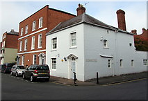 SO5139 : Three Grade II listed buildings, Castle Street, Hereford by Jaggery