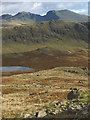 NY1509 : Slopes above Low Tarn by Karl and Ali