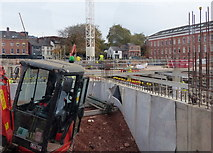 SK5804 : Construction on the site of the former New Walk Centre by Mat Fascione