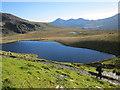 SH5955 : Llyn Ffynnon-y-gwas (reservoir) by Jeff Buck