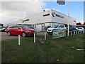 TL3541 : Murketts Vauxhall, Royston by Hugh Venables