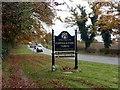 SJ8664 : Congleton town sign by Graham Hogg