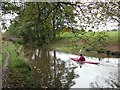 SJ8864 : Kayaking on the Macclesfield Canal by Graham Hogg