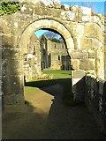 SE2768 : Through an archway at Fountains by Gordon Hatton