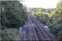 TQ3226 : Brighton Main Line by N Chadwick