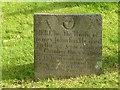 SK7929 : Belvoir Angel headstone, St Denys Churchyard, Eaton by Alan Murray-Rust