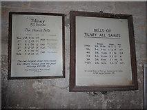 TF5617 : Inside Tilney All Saints Parish Church (1) by Basher Eyre