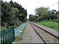 TQ5487 : The Romford to Upminster line towards Upminster by Phil Gaskin
