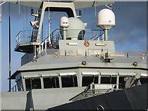 NT2677 : 'HMS Severn' - P282 - detail by M J Richardson