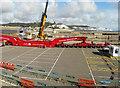 TR3140 : Heavy lifting crane on Admiralty Pier by John Baker