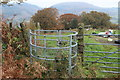 ST2290 : Kissing gate to path from track below Mynydd Machen by M J Roscoe