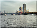 TQ3080 : Thames View from Waterloo Bridge by David Dixon
