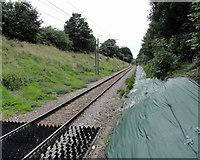 TQ5487 : Romford to Upminster line facing towards Romford by Phil Gaskin