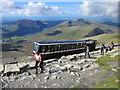 SH6054 : The Snowdon Mountain Railway at Bwlch Glas by Jeff Buck
