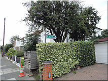 TQ5487 : Entrance to footpath 172 in Maywin Drive by Phil Gaskin
