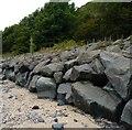 NT2586 : Coastal defences by James Allan