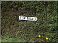 TL9114 : Top Road sign by Adrian Cable
