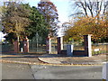 SJ8846 : Hanley Park: entrance on College Road by Jonathan Hutchins