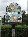 TL8817 : Inworth Village sign by Adrian Cable