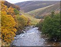 NN8971 : The River Tilt below Marble Lodge by Jim Barton