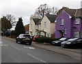 SO8216 : Purple house in a Gloucester suburb by Jaggery