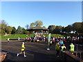 SJ8846 : Hanley Park Run by Jonathan Hutchins