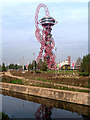 TQ3784 : City Mill River and ArcelorMittal Orbit by David Dixon
