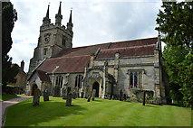 TQ5243 : Church of St John the Baptist by N Chadwick