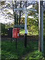 SJ7285 : Elizabeth II postbox on Reddy Lane, Booth Bank by JThomas