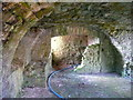 SN0901 : Carswell Medieval House, Penally - the undercroft by Humphrey Bolton