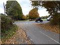 TQ2925 : Cleaver's Lane reaches Staplefield Road by Shazz