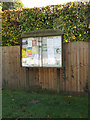 TL1916 : Ayot St. Lawrence Village Notice Board by Adrian Cable