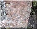 NY0502 : Ordnance Survey Cut Mark by Adrian Dust