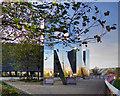 TQ3784 : RUN Sculpture, Queen Elizabeth Olympic Park by David Dixon