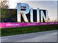 TQ3784 : RUN at the Copperbox Arena by David Dixon