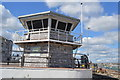 SX4455 : Control Tower, Torpoint Ferry by N Chadwick