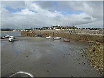 SW5130 : Harbour St Michael's Mount by Chris Allen