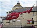 SW3425 : Former air ambulance - Land's End by Chris Allen