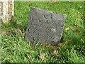 SK8422 : Belvoir Angel headstone, Coston churchyard by Alan Murray-Rust