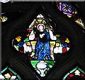TG0704 : Kimberley St Peter - East window by Evelyn Simak