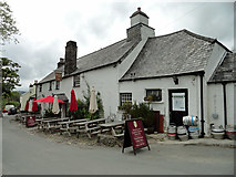 SX5467 : The Royal Oak Public house in Meavy by Phil Gaskin