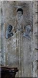 SO7137 : Incised slab, St Michael and All Angels' church, Ledbury by Julian P Guffogg