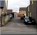 SS8277 : No Cycling sign facing New Road, Newton, Porthcawl by Jaggery
